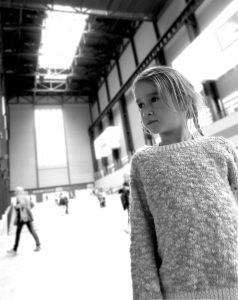 Girl at Tate Modern